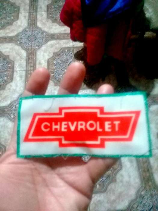 Parche Chevrolet para Ropa Gorra Etc