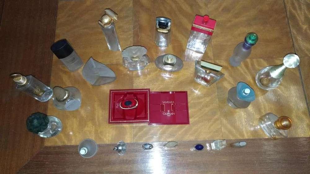 Frascos de perfumes importados vacios ***en MUY BUEN ESTADO***