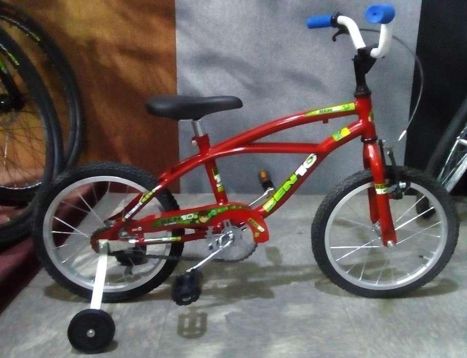 Bicicleta Rodado 14 de Niño.