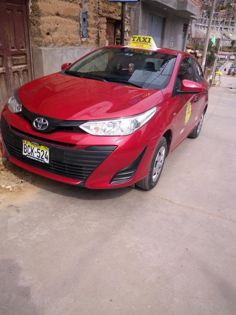 Vendo Mi Auto Toyota Yaris Modelo 2018