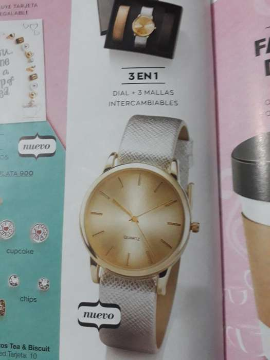 Reloj con Malla Intercambiable
