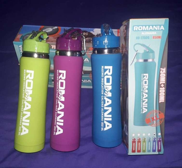 Botellas Termicas Romania 850 Ml