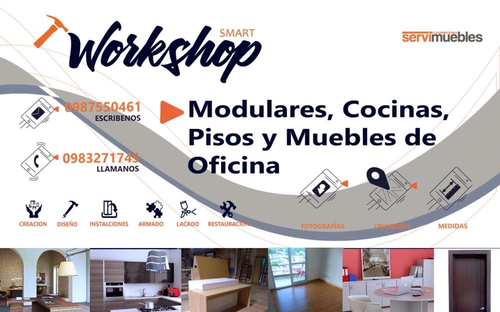 modulares, cocina, <strong>mueble</strong>s de oficina, carpintero, pisos y más