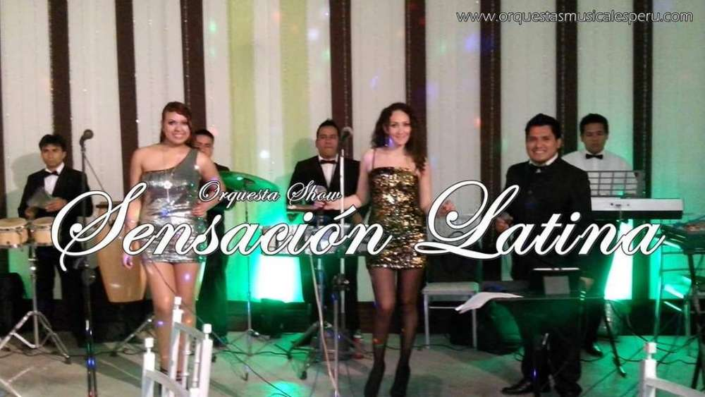 Orquesta Show Sensación Latina