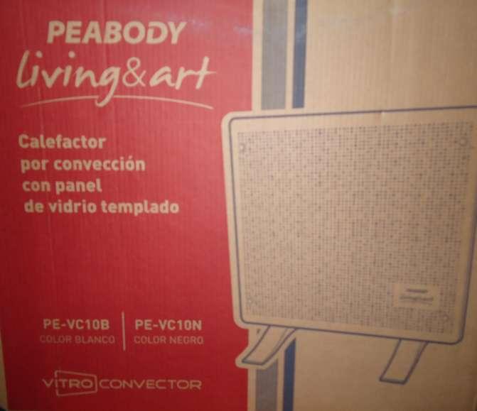 Convector Vitro Peabody <strong>living</strong> Art Usado Impecable