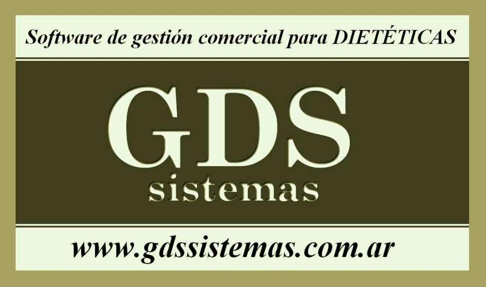 Software de gestión para .·. DIETÉTICAS .·. stock, ventas, facturación, caja, reportes .·. programas GDS Sistemas