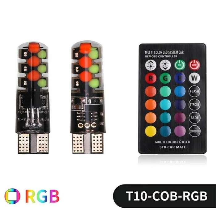 Led T10 Rgb con Control