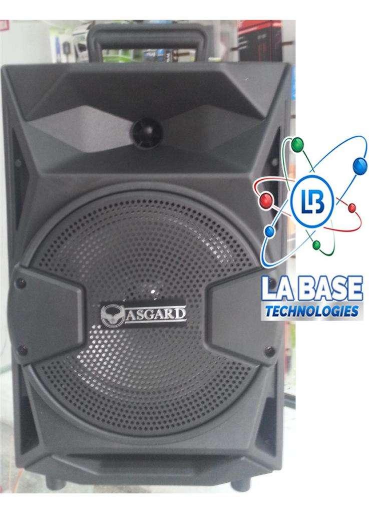 Parlante Bluetooth Inalambrico Asgard Te83 Radio