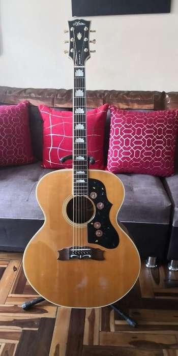 Guitarra Aria J-200