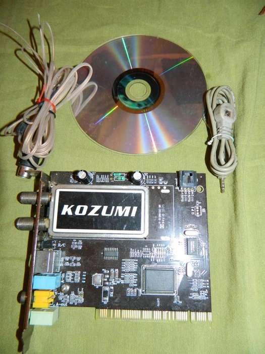 sintonizador de tv y fm Kozumi