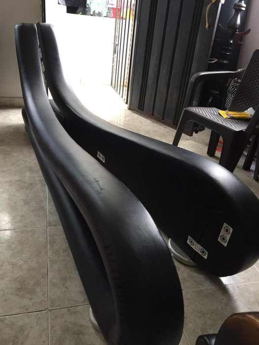 Hermosa Cama 2X2 Color Negro