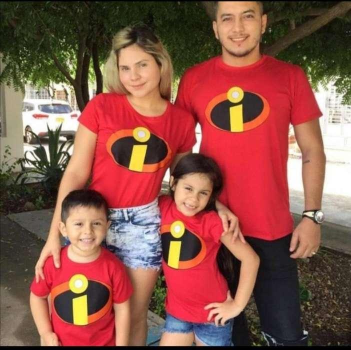Camisetas de Familia
