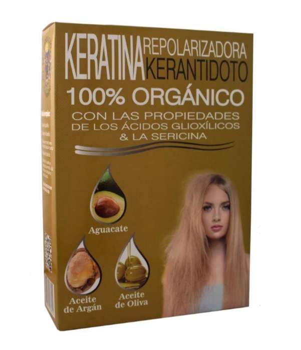 Keratina Repolarizadora Kerantidoto Orgánica LM x 240ml