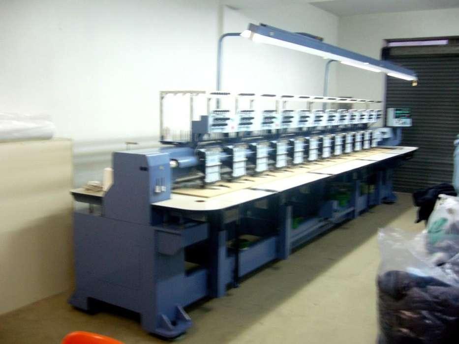 Bordadora industrial computarizada