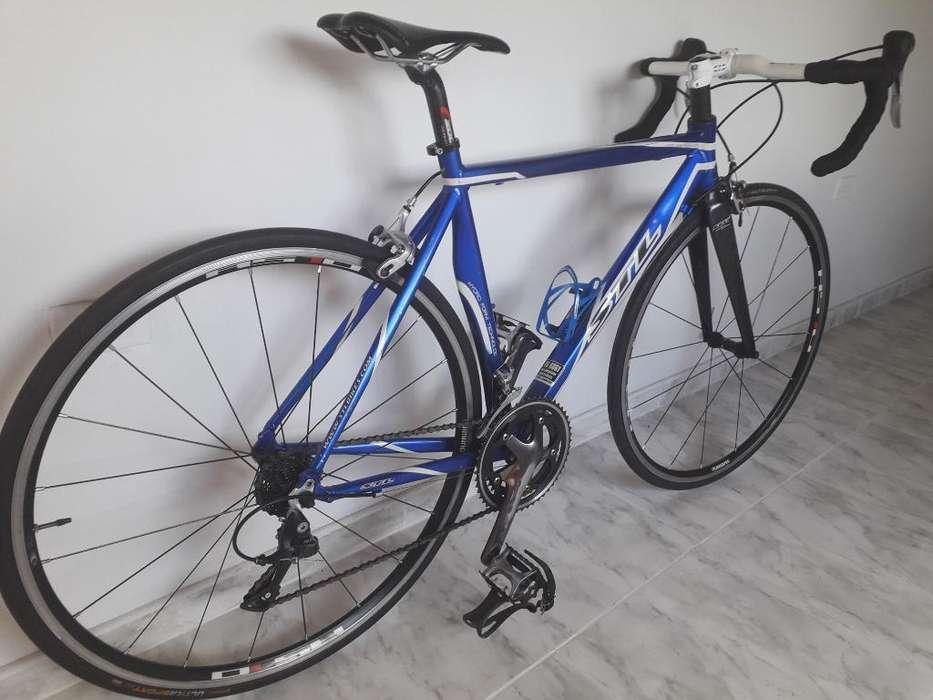 Super Ganga Bicicleta de Ruta Stl 9v