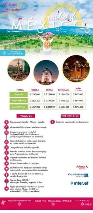 Viaje como un Rey aCiudad de México con Viajes la Corona 110919