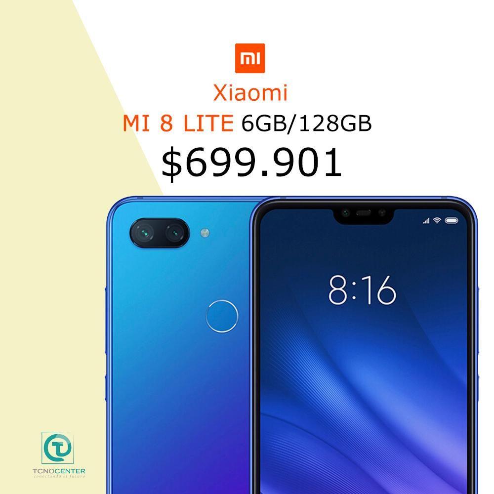 Xiaomi Mi 8 lite 128Gb, Tienda Fisica, nuevos, Originales, sellados, te esperamos.