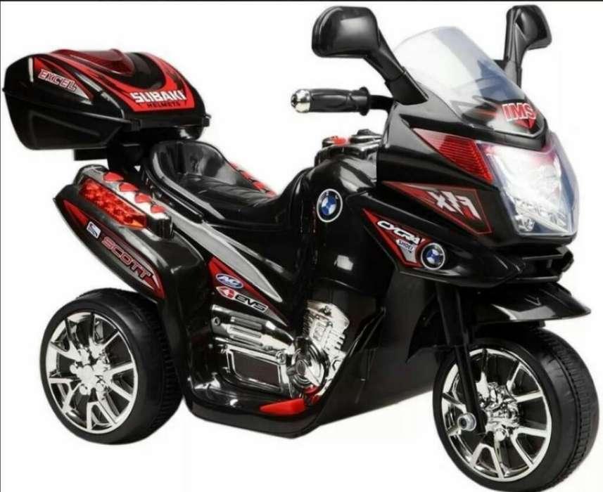 Ganga Moto Electrica Nueva Niños Niñas