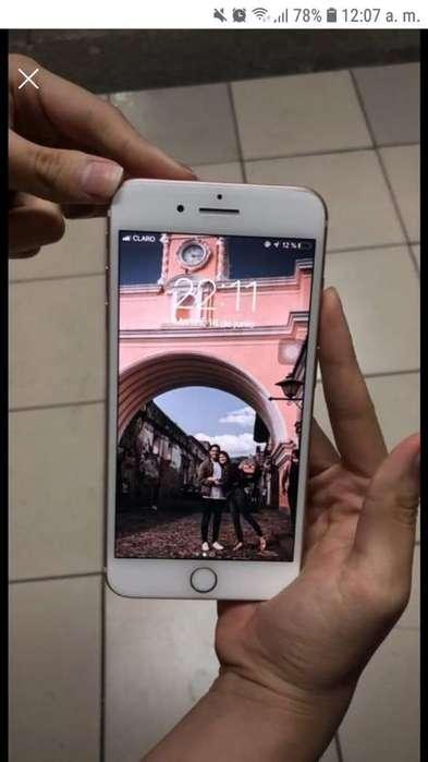 iPhone 7 Plus 32gb Rose Gold Caja Cargad