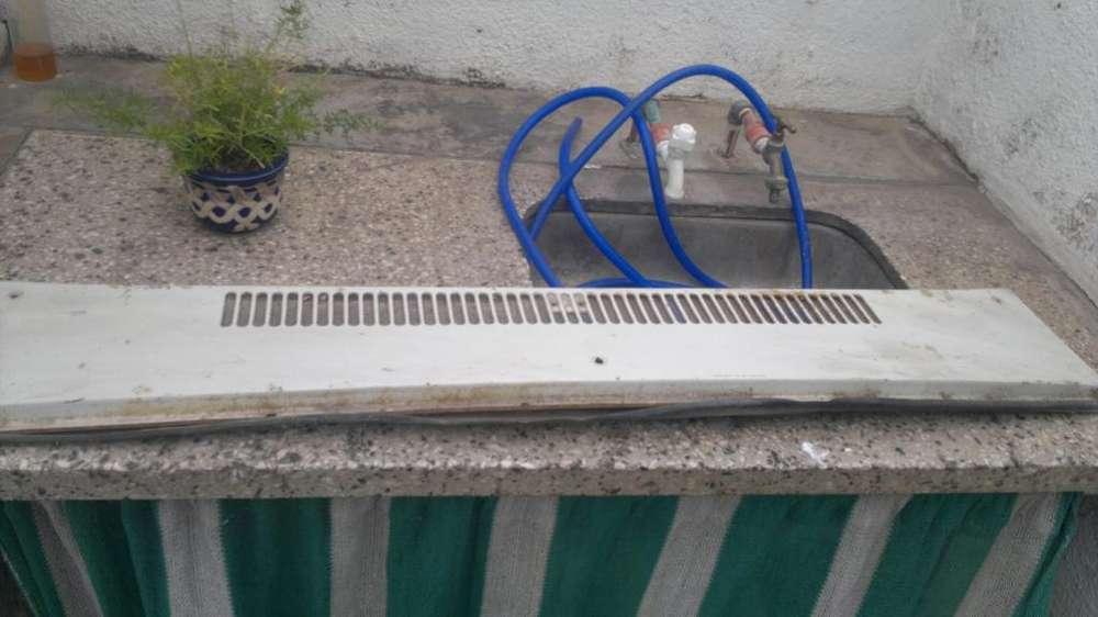 Rejilla radiador calefaccion de renault 12