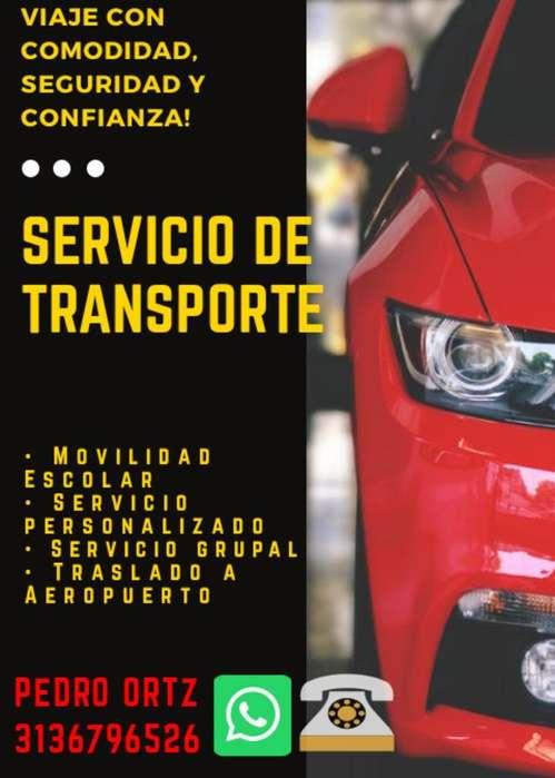 Servicio de Transporte Personalizado