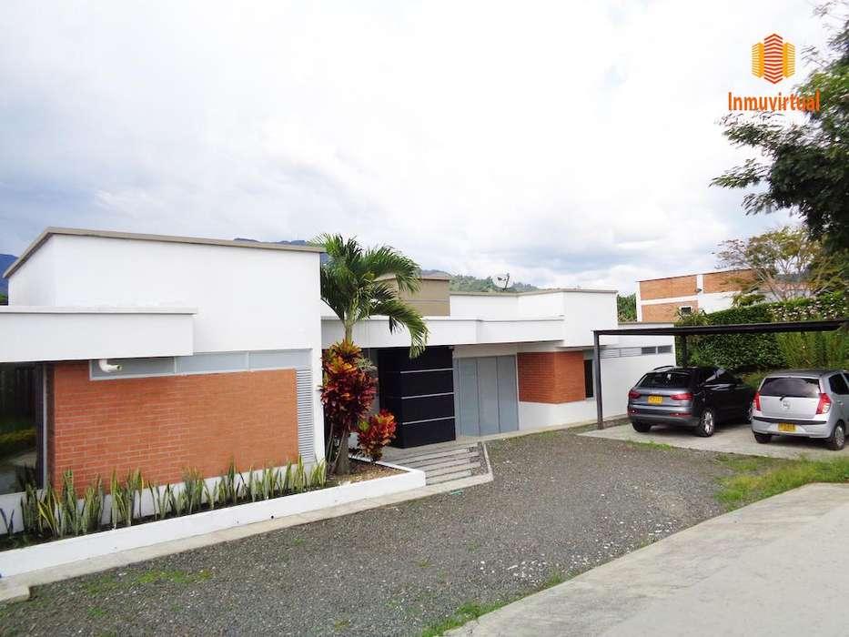 Vendo Moderna Casa Campestre en Combia - wasi_1371628
