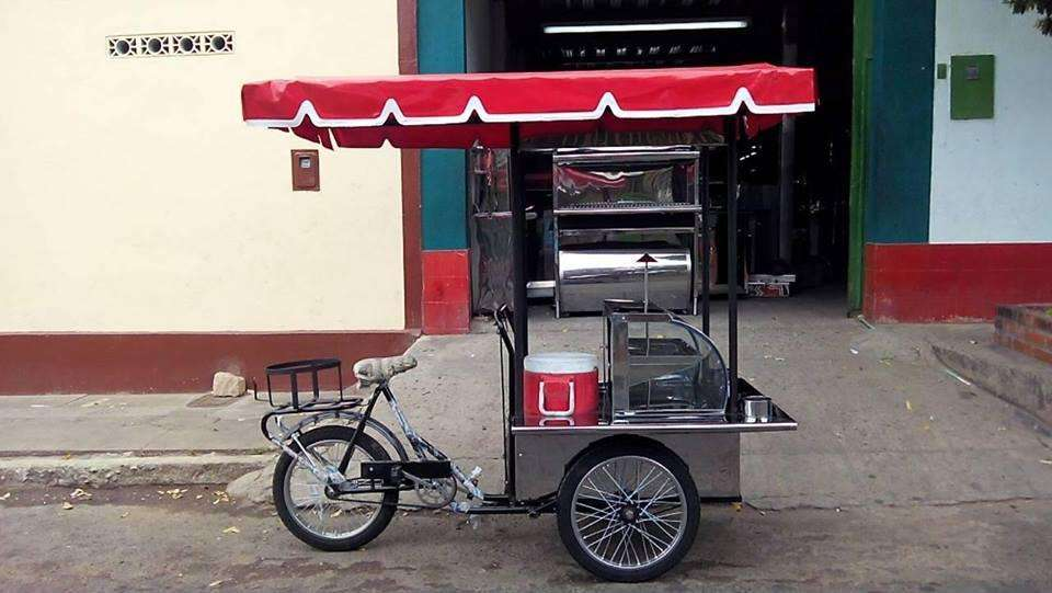 Triciclos para fritos y jugos