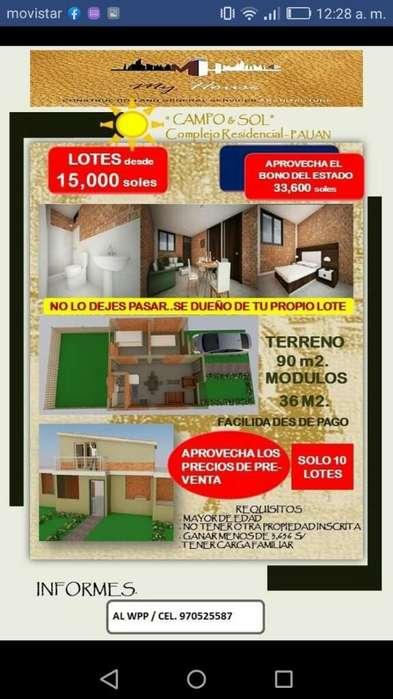 Lotes Y Casas en Paijan