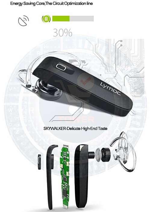 HANDSFREE con estéreo en HD micrófono incorporado