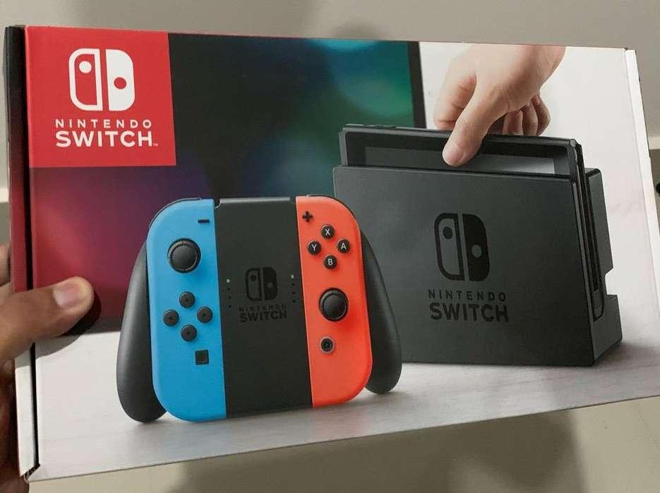 Nintendo Switch 10/10 (2 Juegos fisicos)