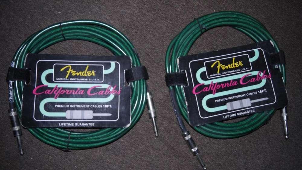 Cable Fender Original NUEVO para Guitarra-Bajo-Teclados