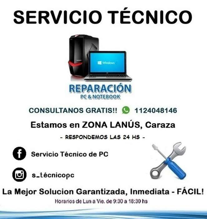 Servicio Técnico Pc, Desbloqueo Netbook