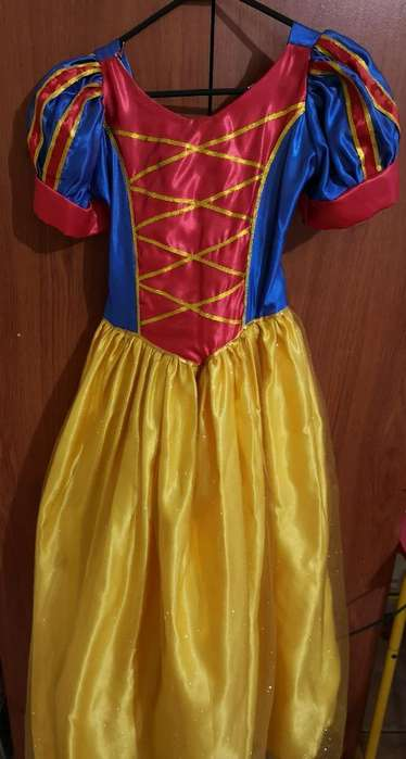Disfraz Blanca Nieves Talla 10 (niña)