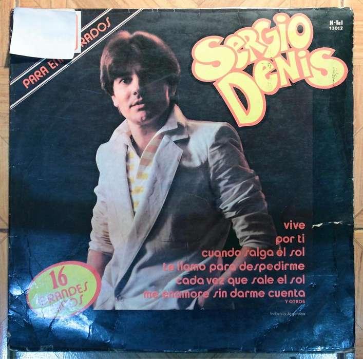 Dergio Denis 16 grandes exitos disco vinilo