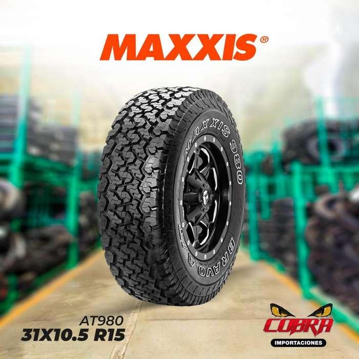 <strong>llantas</strong> 31X10.5 R15 MAXXIS AT980 CON GARANTÍA