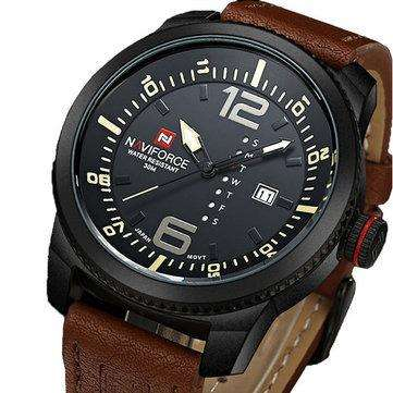 Reloj Naviforce marron