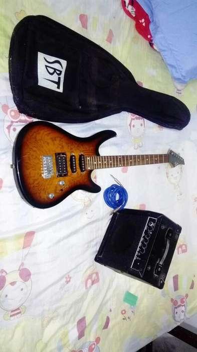 Conjunto de Guitarra en Perfecto Estado