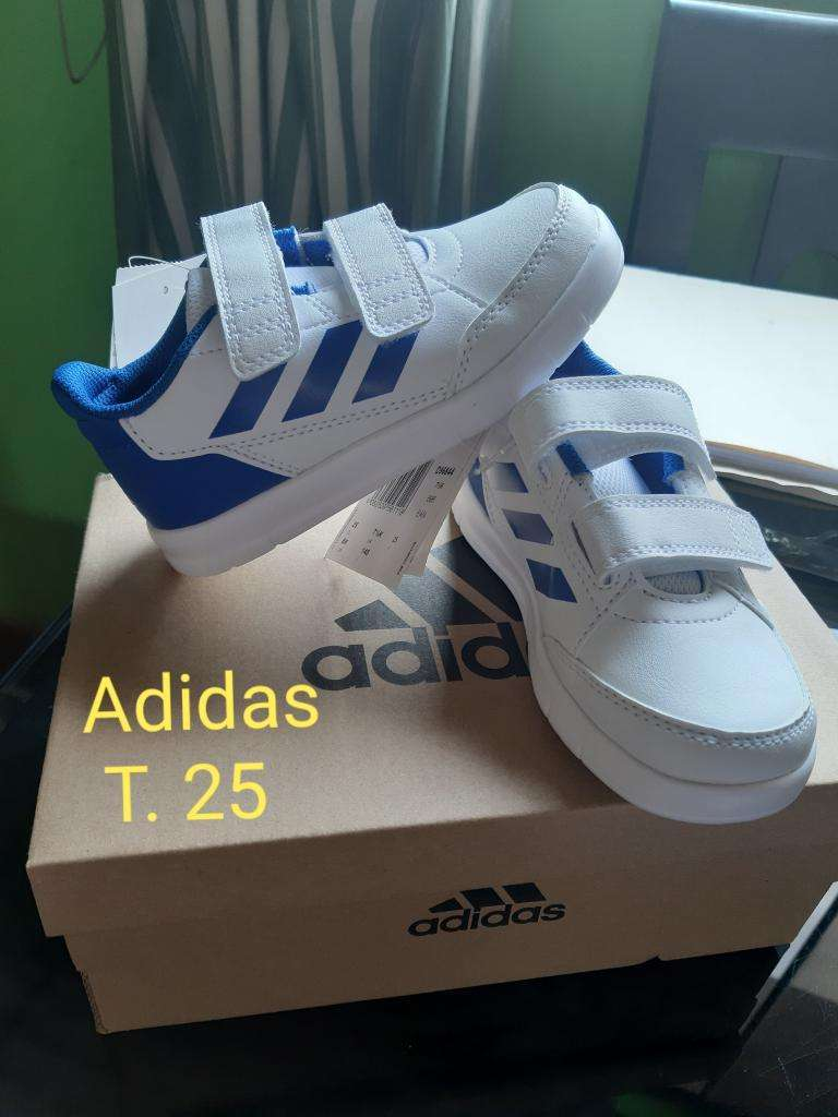 zapatillas niño adidas 25