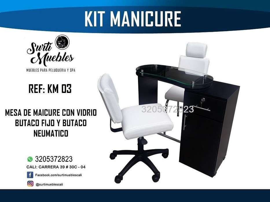 Muebles para Peluquería Manicure Y Pedic
