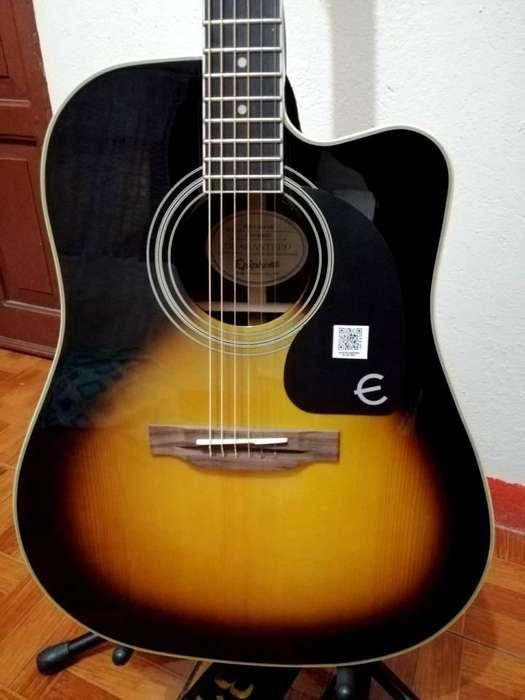 Guitarra Epiphone pro ultra nueva
