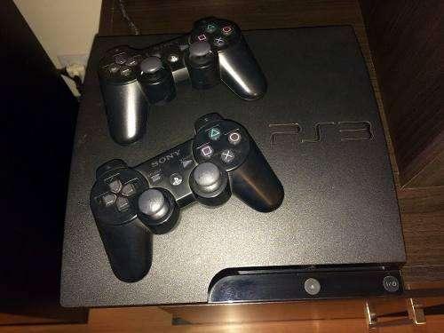 PS3 500 GB INCLUYE 30 JUEGOS 2 MANDOS