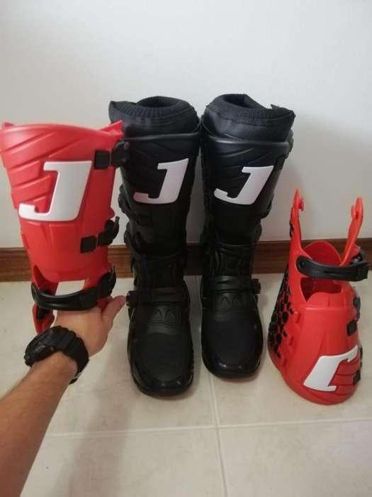 botas de motocross jett