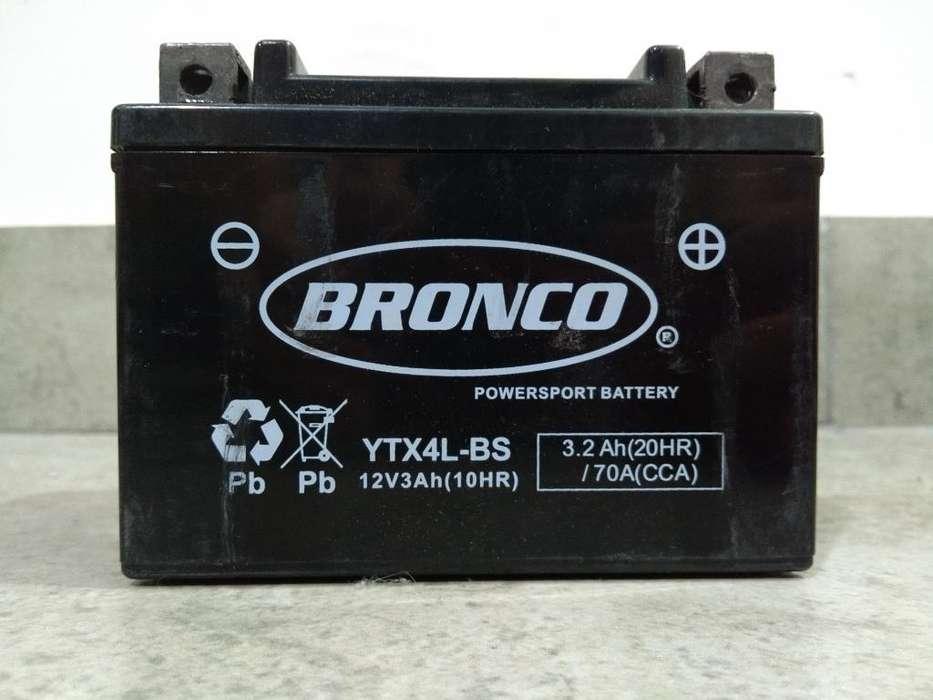 Bateria Ytx4l-bs <strong>honda</strong> Dax, Fan, Cg, Etc