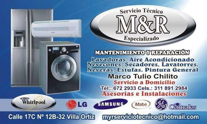 VILLAVICENCIO SOLO NEVERAS 3118912984 REPARACION