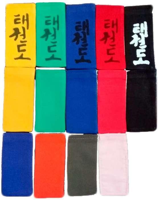 Puntas lisas para cinturones de artes marciales