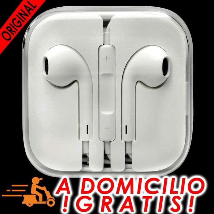 Audífonos Apple Original Nuevos iPhone iPod con jack3.5