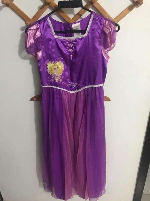 Pijama Rapunzel Disney Talla 10