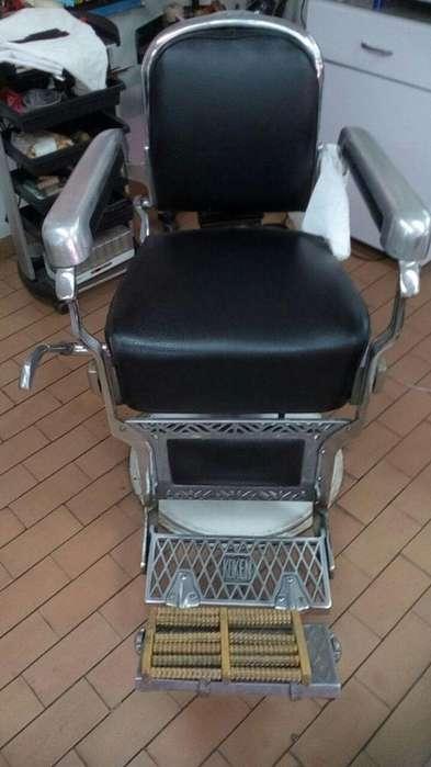 silla clasica de barberia