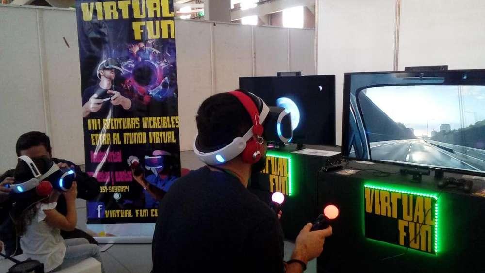 Anima tu fiesta con Realidad Virtual!