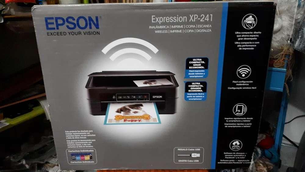 EPSON XP 241 un mes de uso Mudanza